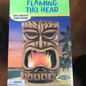 amscan Flaming Tiki Head Party Decoration